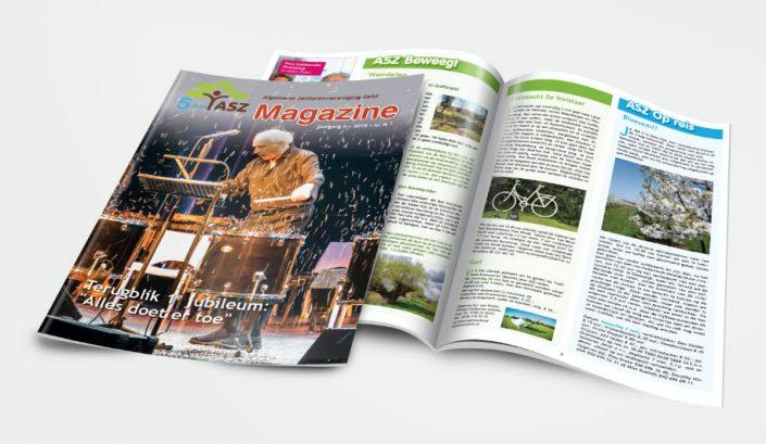 magazine ASZ senioren Zeist